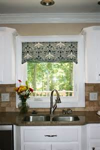 Kitchen Shades And Curtains by Kitchen Window Cornice Ideas Kitchen Window Valances