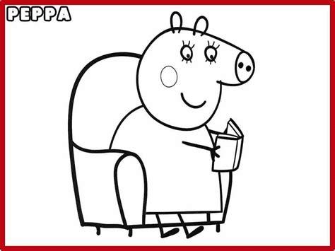 dibujos para colorear xv años pintar peppa pig y colorear dibujos de peppa pig