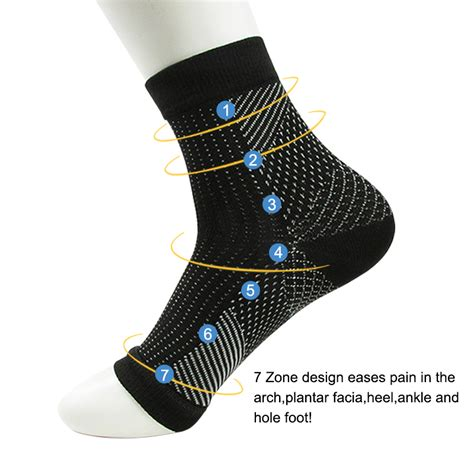 Comfort Foot Anti Fatigue Compression Sleeve Elastic S Socks dropshipping comfort foot anti fatigue compression socks sleeve elastic s socks