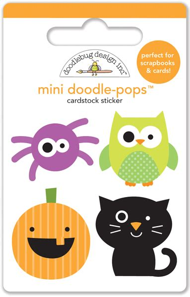 mini doodle pops doodlebug design