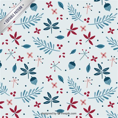 new year pattern ai floral pattern vector premium