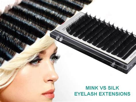 Silk Eyelash Extension silk mink or synthetic eyelash extensions quality hair accessories
