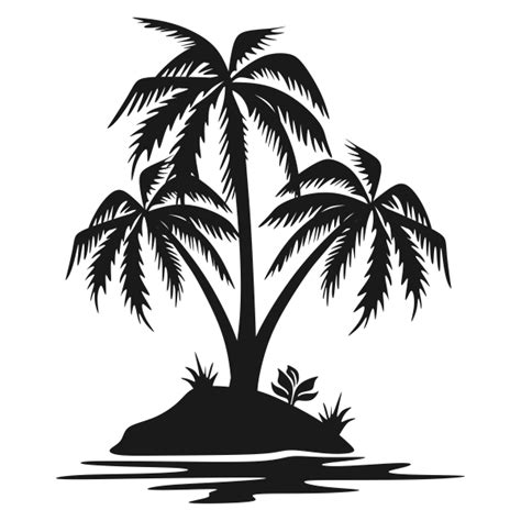 palm tree svg palm tree island svg cuttable design