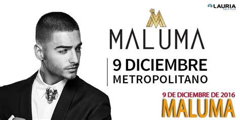 entradas para maluma luna parck junio 2016 maluma en argentina diciembre 2016