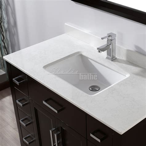 Bathe Vanities by Studio Bathe 42 Inch Espresso Finish Bathroom Vanity
