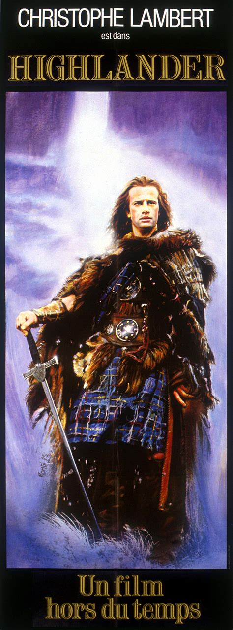 the highlander poster passion highlander lara and the reel boy