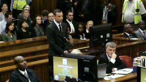 Pleads Not Guilty by Pistorius Pleads Not Guilty In Murder Trial Nbc News