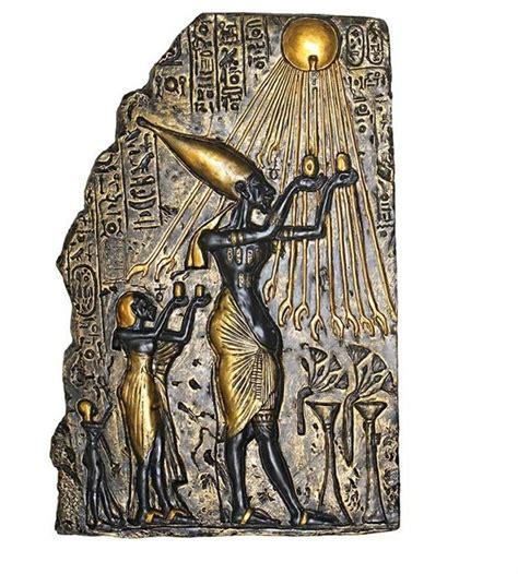 ancient home decor ancient pharaoh akhenaten wall sculpture decor