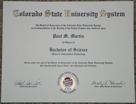 Of Colorado Mba Program by Colorado State Global Cus