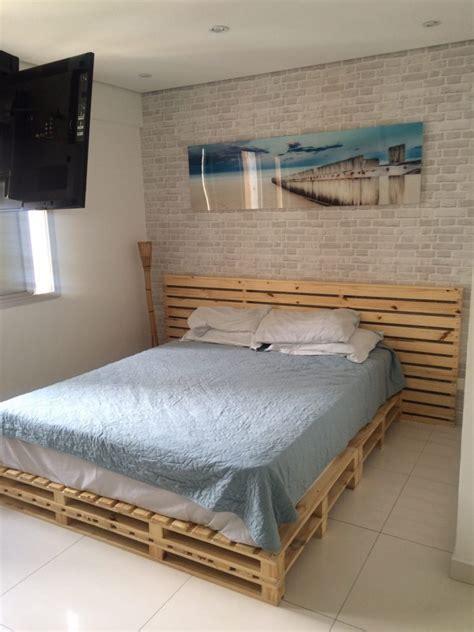 de cama camas de pallets