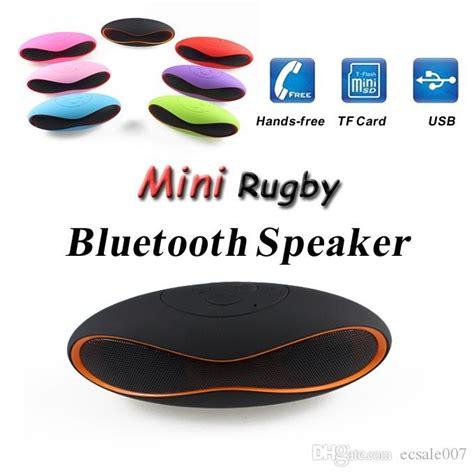 Speaker Mini X6 mini x6u x6 rugby football stereo speaker subwoofers mini portable soccer wireless bluetooth v3
