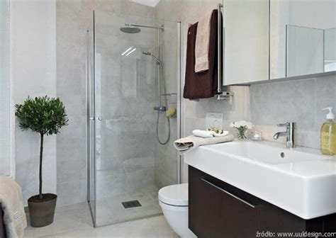 basic bathroom decorating ideas maå a å azienka z prysznicem â zasady jej aranå acji