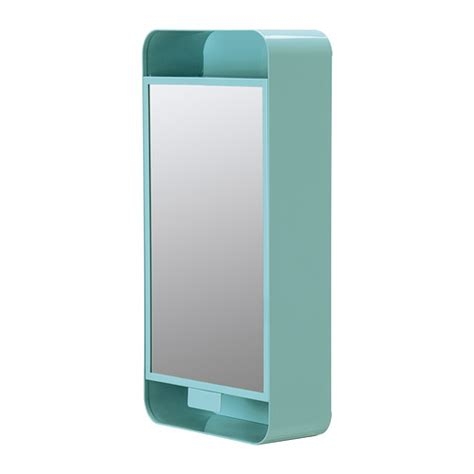 turquoise bathroom cabinet gunnern mirror cabinet with 1 door turquoise ikea