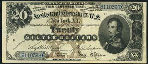 how much is a 1886 silver dollar worth 1880 20 silver certificate value how much is 1880 20