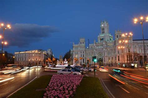 fotos de madrid de noche mirador madrid