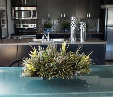kitchen arrangement artificial floral arrangements and trees contemporary