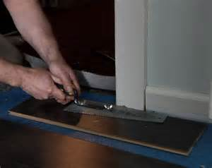 laminate flooring laminate flooring installation through doorways