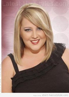 flattering haircut for double chin flattering hairstyles for plus size women with double