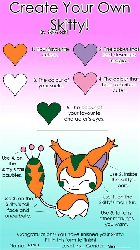 How To Make Your Own Meme Picture - create your own skitty meme radius by rainbowcrashkittyy
