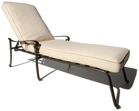 aluminum chaise lounge chair strathwood st cast aluminum chaise lounge chair