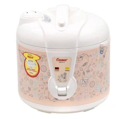 Cosmos Rice Cooker Crj 3301 1 8 Liter 400 Watt Penanak Nasi daftar lengkap harga rice cooker semua merek september
