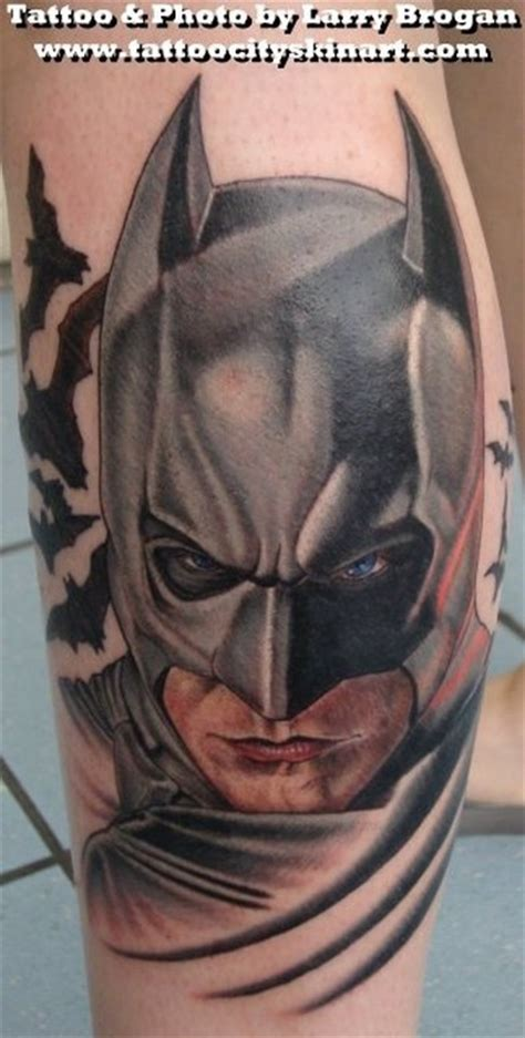 dark knight tattoo batman the by larry brogan tattoonow
