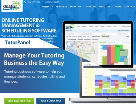 tutor scheduling business software tutorpanel comparing tutorcruncher learnspeed teachworks tutorpanel