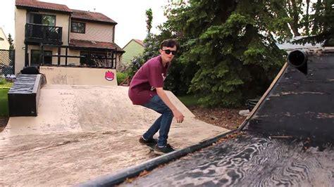 backyard skatepark my backyard skatepark 3 youtube