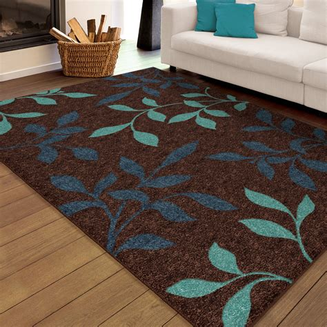 3 By 5 Area Rugs Orian Voyager Area Rug Blue 5 3 Quot X 7 6 Quot Walmart