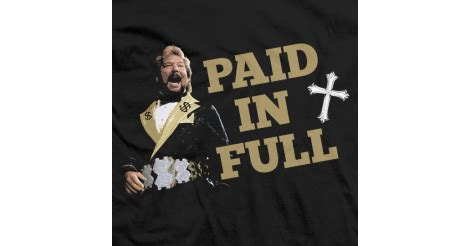 ted dibiase professional wrestler paid  full shirt