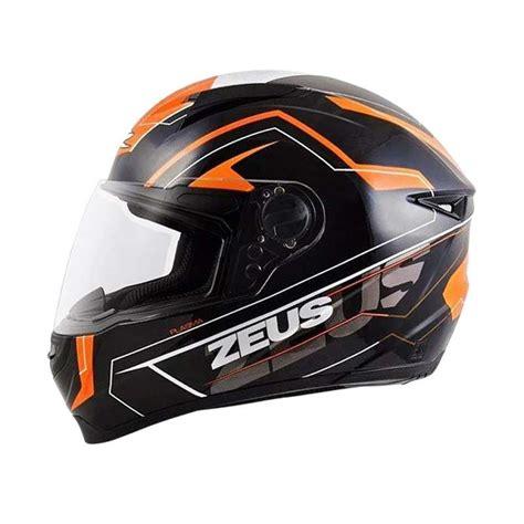 jual zeus zs 811 al5 helm black orange