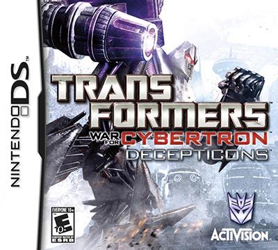 transformers war for cybertron decepticons nds rom