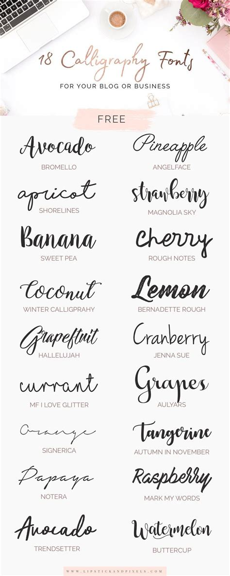 business letters font 18 free calligraphy fonts for your or business