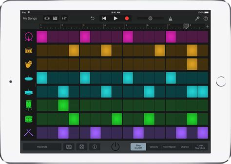 drum pattern for garageband check out garageband s amazing new features on ios cult