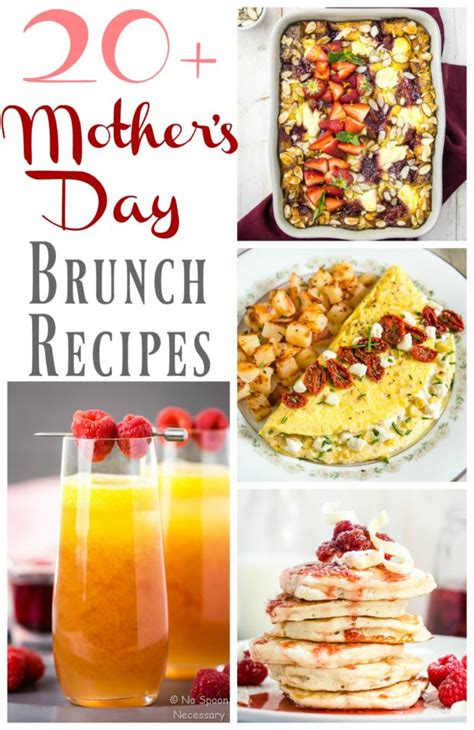 mother s day brunch recipes no spoon necessary