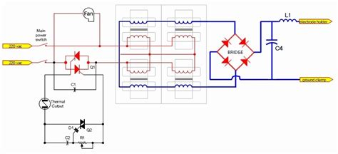 dc inverter welding machine circuit diagram wiring