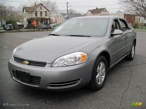 2007 chevrolet impala lt silver metallic 2007 chevrolet impala lt exterior