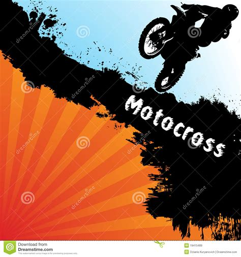 stock images royalty free images vectors vector motocross background royalty free stock images image 19415489