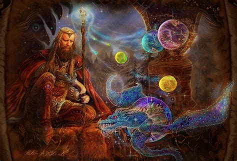 magic painting free quot wizard picture quot magical picture of merlin the wizard