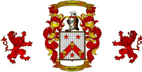 baxter family crest tattoo ideas pinterest