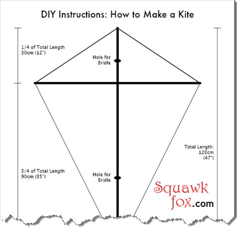 How To Make A 5 Point Out Of Paper - diy kite designs how to make a kite kites electrical