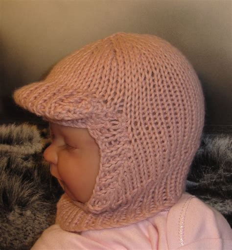 balaclava knitting pattern child printed baby soft peak balaclava hat