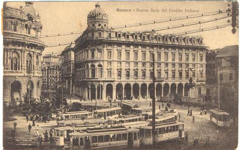 mercato dei fiori genova genova nuova sede credito italiano 1918