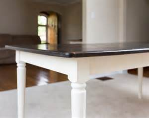 Kitchen Table White Legs Wood Top Walnut Rustic Dining Table Farm Style Solid Pine Wood Kitchen Table Antique White