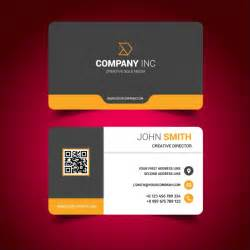 Home Design Business business card design vector free download