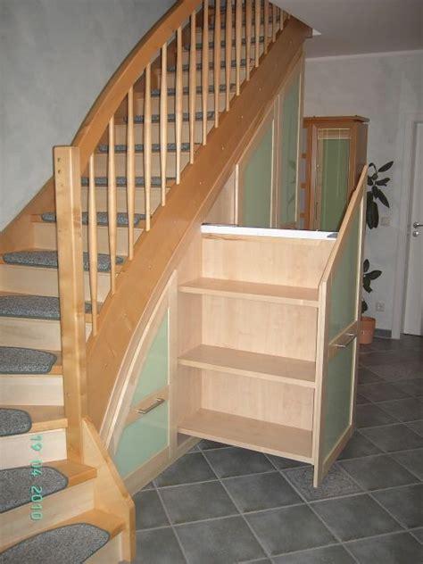 Unter Treppen Schrank by Garderobe Unter Offener Treppe Suche Schr 228 Ge