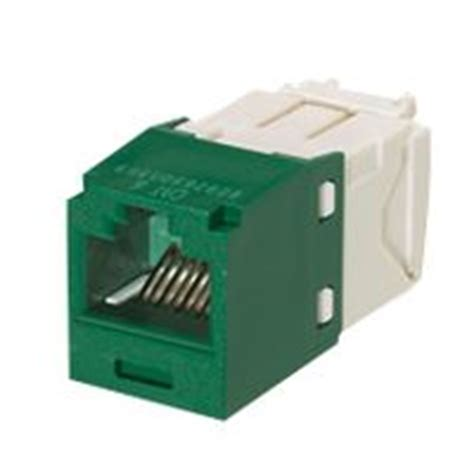 Kabel Konektor Modular Panduit Cat6 cj688tggr panduit modular connector cat6 rj45 8 contacts 8 mini tx6