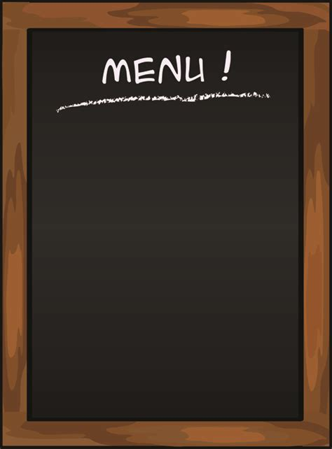 menu background template black menu vector background 03 vector background free