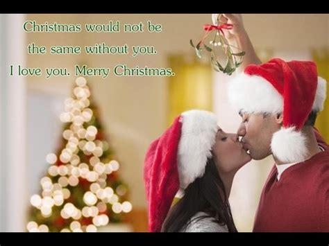 merry christmas   lovers romantic merry xmas message  girlfriendboyfriend