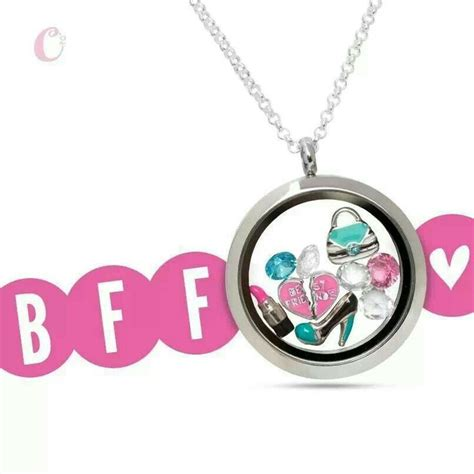 origami owl best friends charm 23 best gift ideas images on